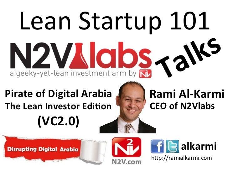 N2Vlabs Talks - leanstartup101