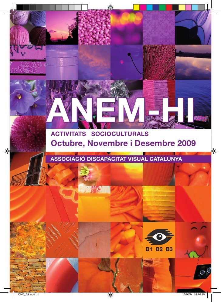 ANEM-HI                ACTIVITATS SOCIOCULTURALS                Octubre, Novembre i Desembre 2009                ASSOCIACI...
