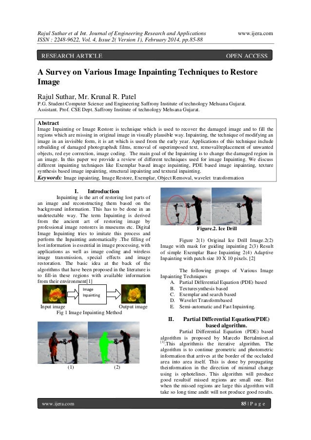 Rajul Suthar et al Int. Journal of Engineering Research and Applications ISSN : 2248-9622, Vol. 4, Issue 2( Version 1), Fe...