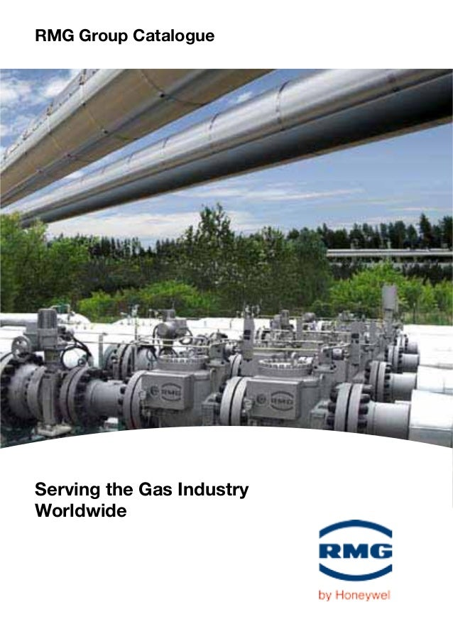 RMG Group Catalogue Serving the Gas Industry Worldwide