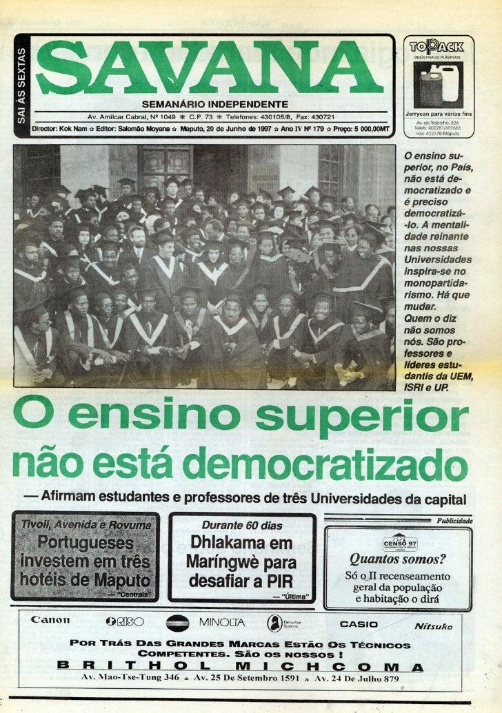 Savana, 20.06.1997