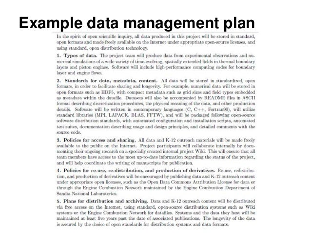 Data Management Policy Template Introduction To Research Data Management