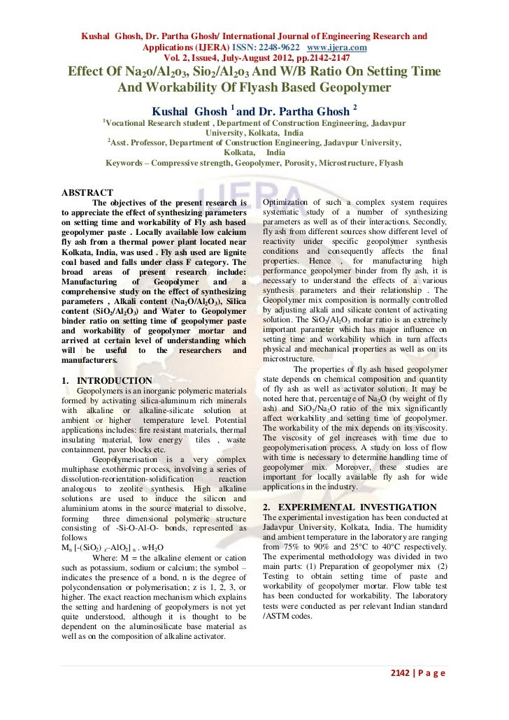 Kushal Ghosh, Dr. Partha Ghosh/ International Journal of Engineering Research and                  Applications (IJERA) IS...