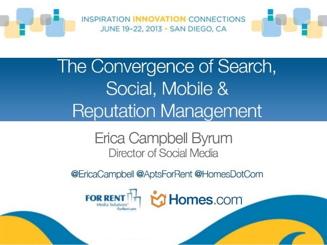 Shifting Shoppers: The Convergence of Search, Social, Mobile & Reputation Management