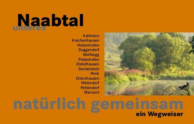 1  Naabtal unteres  Kallmünz  Krachenhausen  Heizenhofen  Duggendorf  Wolfsegg  Pielenhofen  Distelhausen  Deckelstein  Pe...