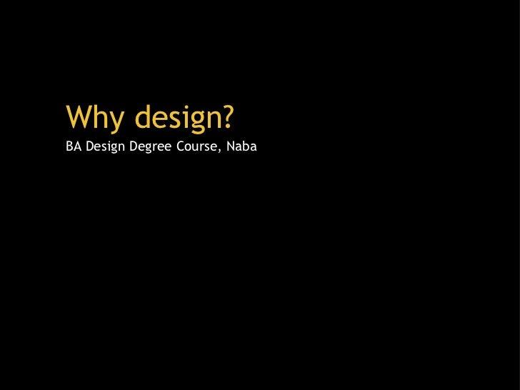 NABA Design Presentation