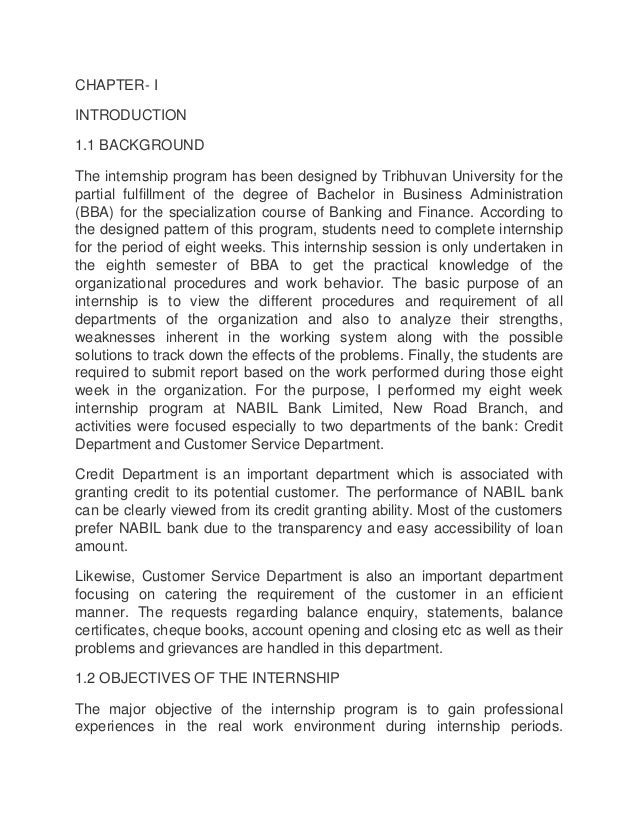 project report on nabil bank This report ision, mission,core  independent member of the board of director of nabil bank ltd  project our position outstandingly bank has recorded .