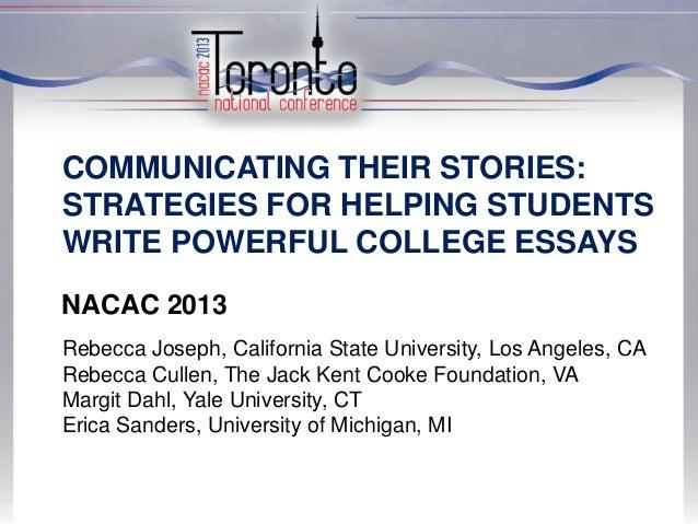 Nacac 2013 powerpoint 9.10.2013