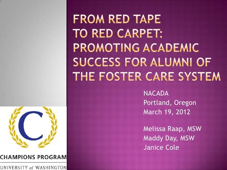 Beyond Expectations: Supporting Youth and Alumni of Foster Care to Succeed in Post-Secondary Education