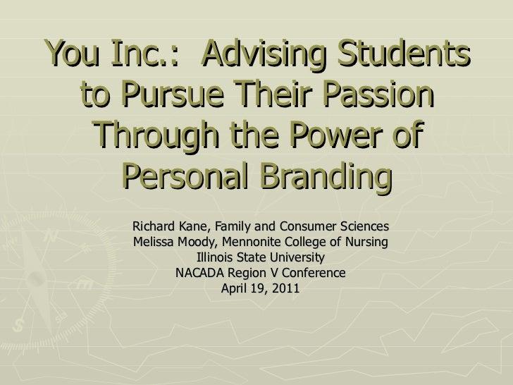 Nacada region v personal branding presentation