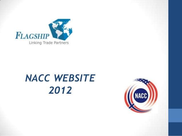 NACC WEBSITE    2012