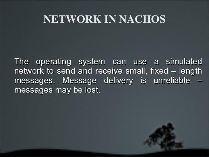 Nach os network