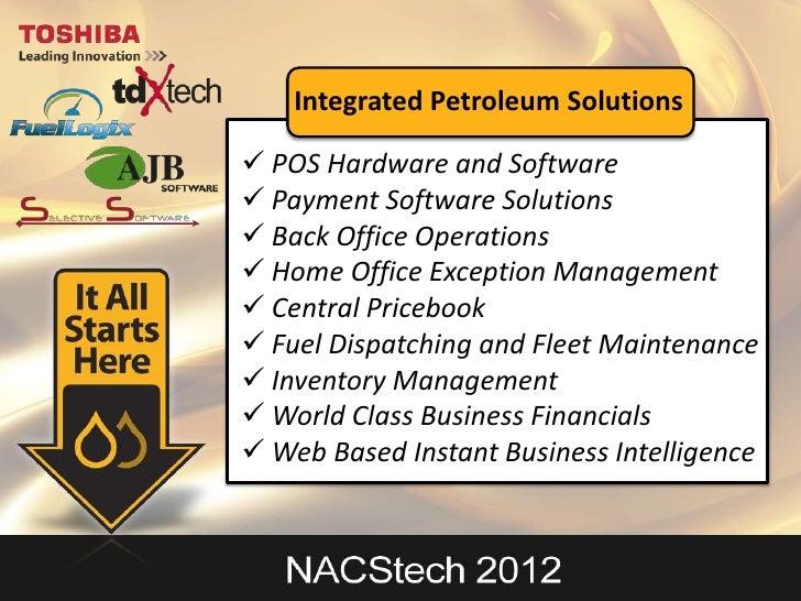Nac Stech 2012 Fuel Logix