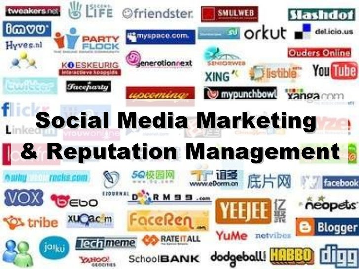 Social Media Marketing  & Reputation Management