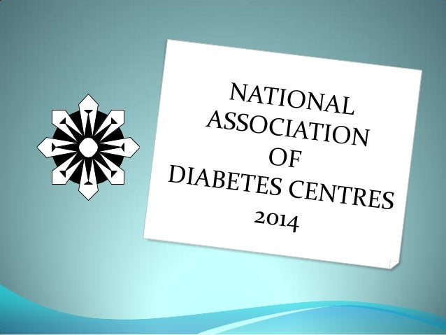 National Association of Diabetes Centres NADC 2014