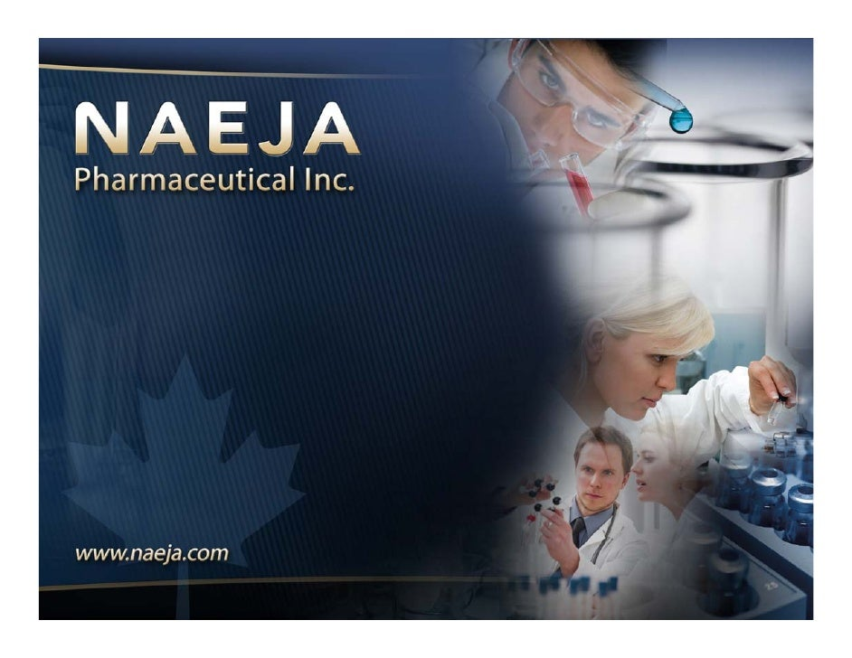 NAEJA Pharmaceutical Inc.             North America, Europe, Japan, Asia Drug discovery Contract Research Organization (CR...