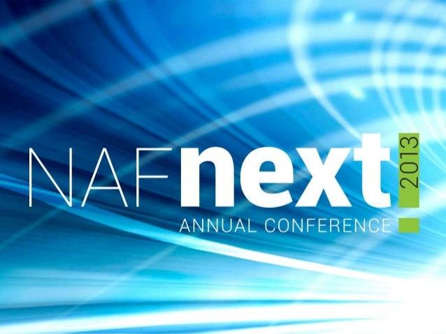 NAF Pesentation Fundraising Friendraising