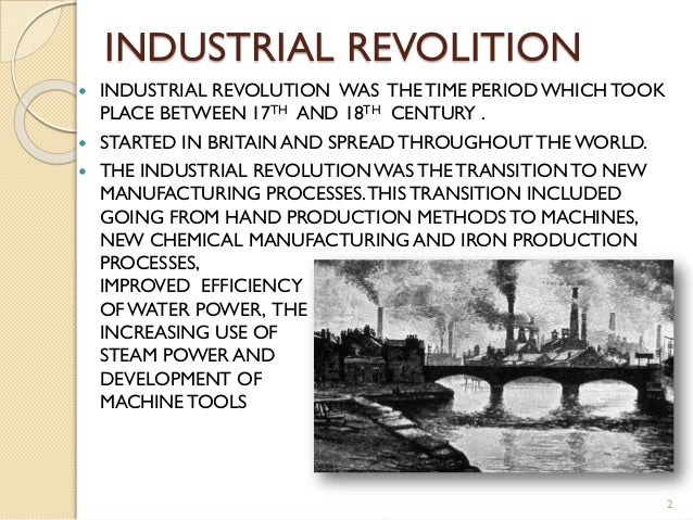 Did the industrial revolution make britain a better place?