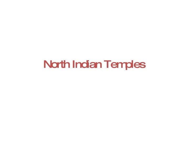 North Indian Temples