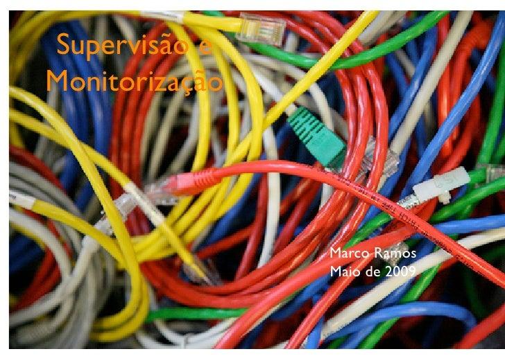 Supervisão e Monitorização