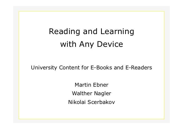 Erstellung elektronischer Bücher - das Beispiel ABC-Manager