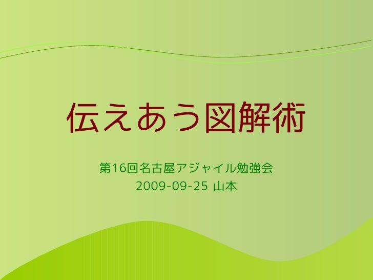 伝えあう図解術 第16回名古屋アジャイル勉強会     2009-09-25 山本
