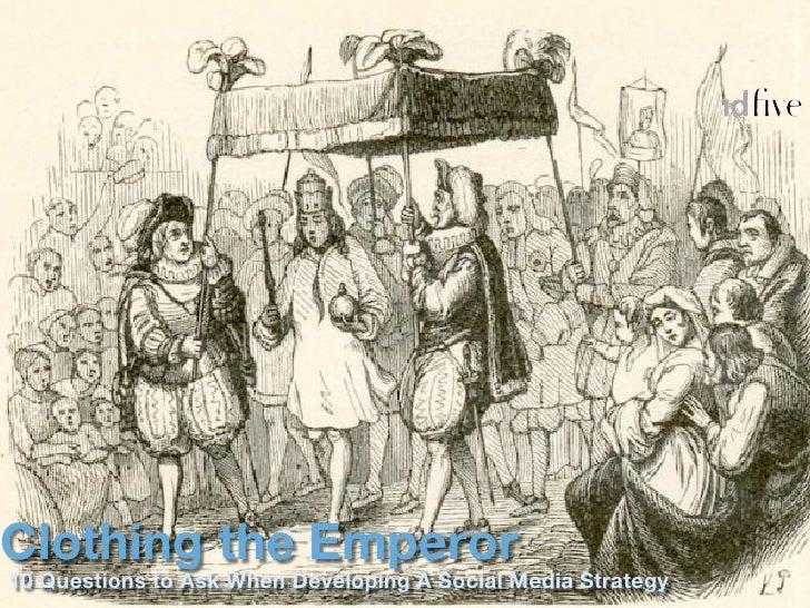 "Presentation to NAICU: ""Clothing the Emperor: 10 Steps to A Social Media Strategy"