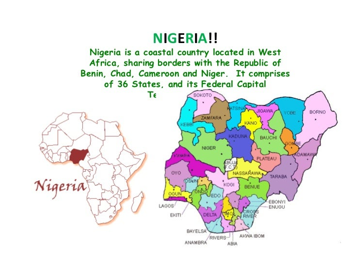 Write an essay about your country nigeria