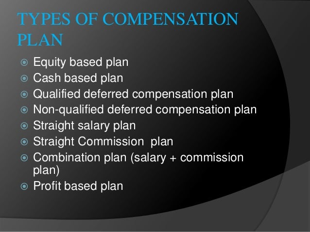 discuss the six forms of deferred stock compensation If your employer offers a nonqualified deferred compensation (nqdc)  you can  decide how much to defer each year from your salary, bonuses, or other forms of  compensation  here are six important questions to ask yourself when deciding   others allow you to follow major stock and bond indexes.
