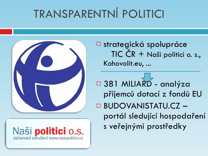 Naši politici 2011   networking