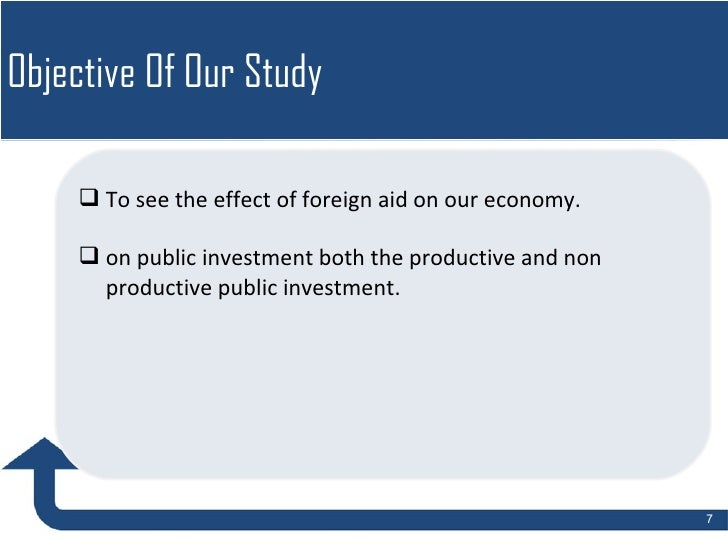 Effects of foreign aid on public