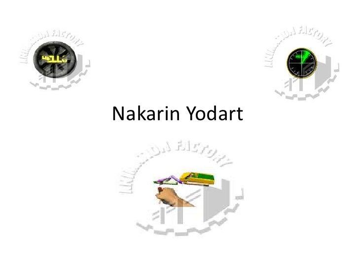 Nakarin Yodart<br />