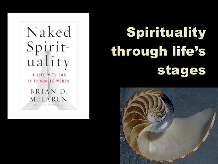 Spiritualitythrough life's      stages