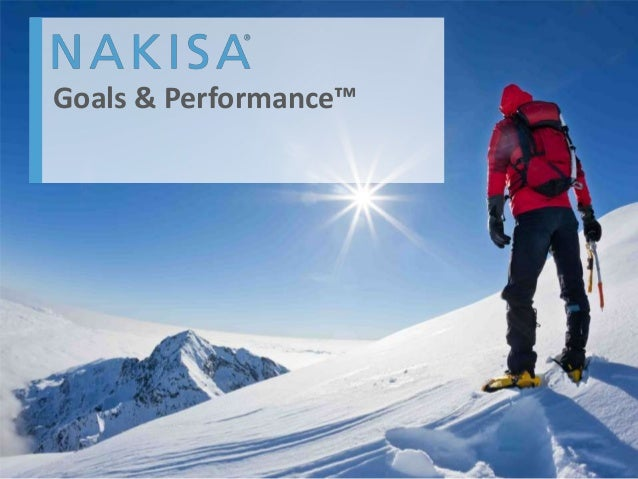 Nakisa Goals & Performance Screenshots