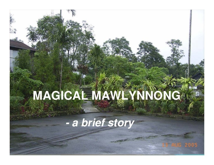 Cleanest villeage in Asia  2005 - Mawlynnong