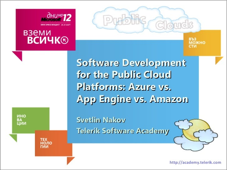 Cloud for Developers: Azure vs. Google App Engine vs. Amazon vs. AppHarbor