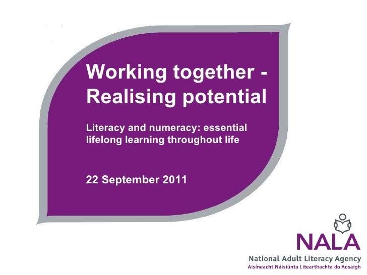 NALA policy event 22 September 2011