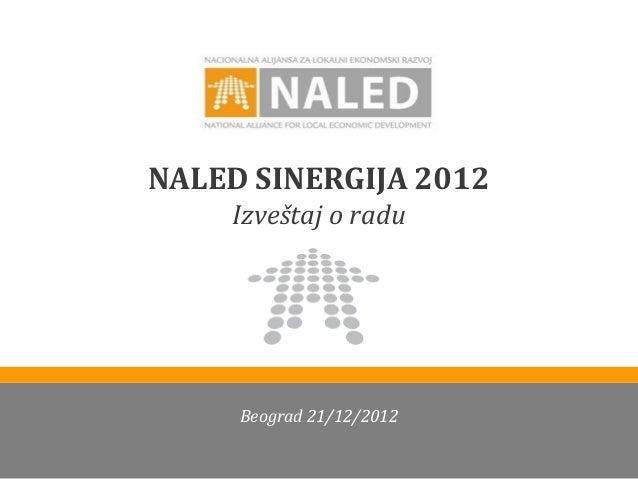 NALED rezultati 2012