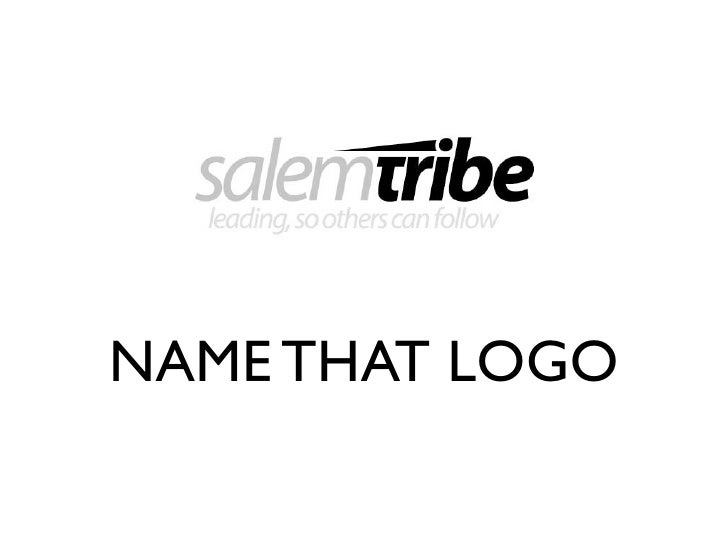 NAME THAT LOGO