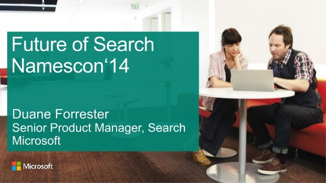 Namescon 2014 - The Future of Search