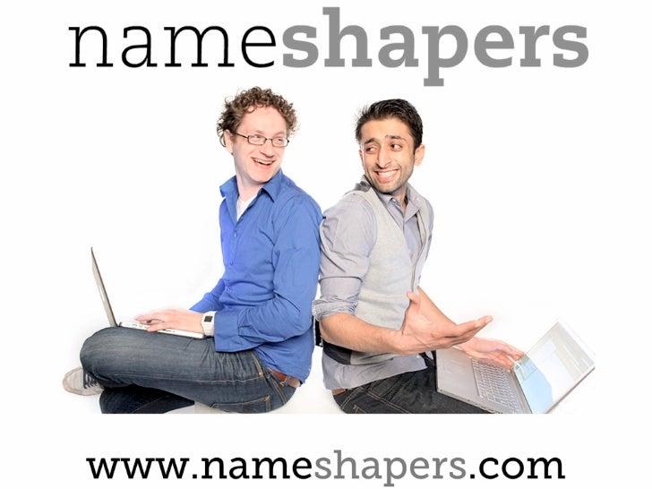 Nameshapers ace science park workshop 15 07-2011 slideshare version