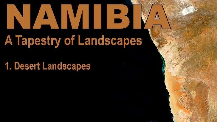 Namibia  Desert Landscapes