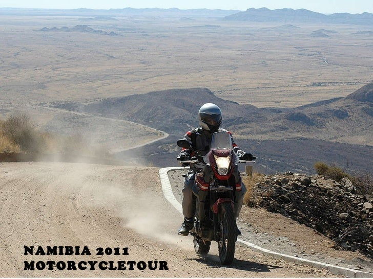 NAMIBIA 2011 MOTORCYCLETOUR