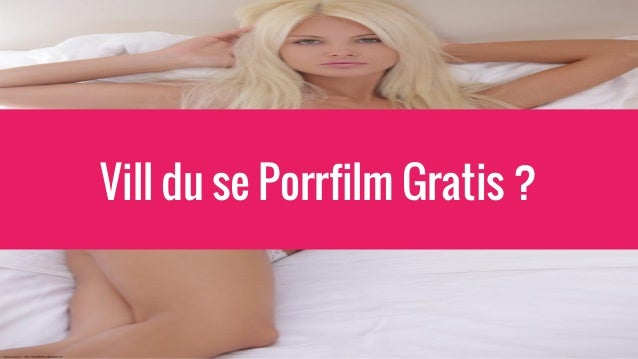 dating gratis porrfilm online