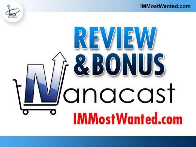 Nanacast Review & Bonus