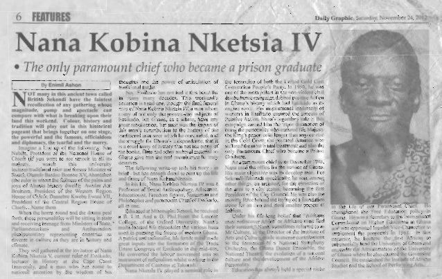 Nana Kobina Nketsia IV