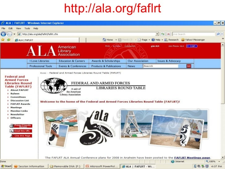 http://ala.org/faflrt