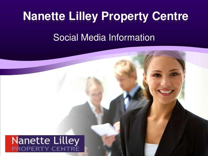 Social Media and Website Information<br />