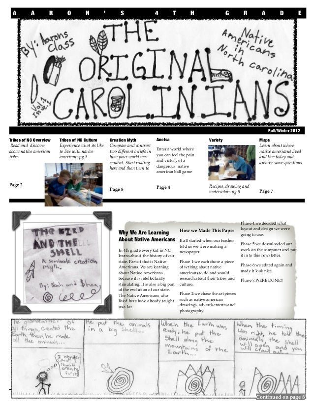 Native American Newspaper