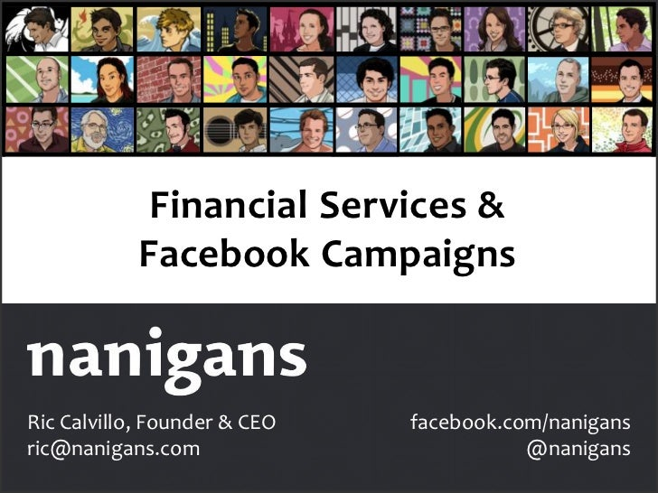 Financial Services & Facebook Campaigns